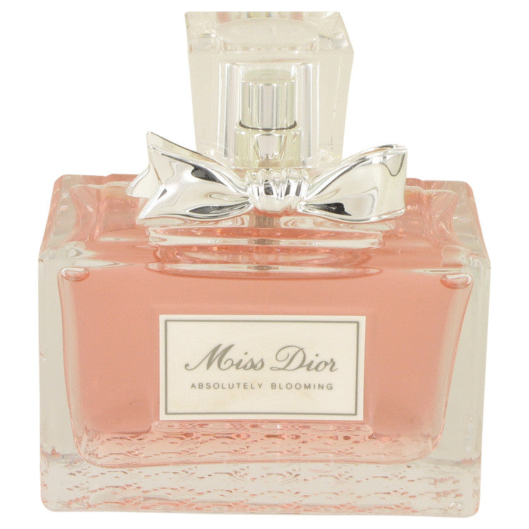 Miss Dior Absolutely Blooming by Christian Dior Eau De Parfum Spray (unboxed) 3.4 oz for Women