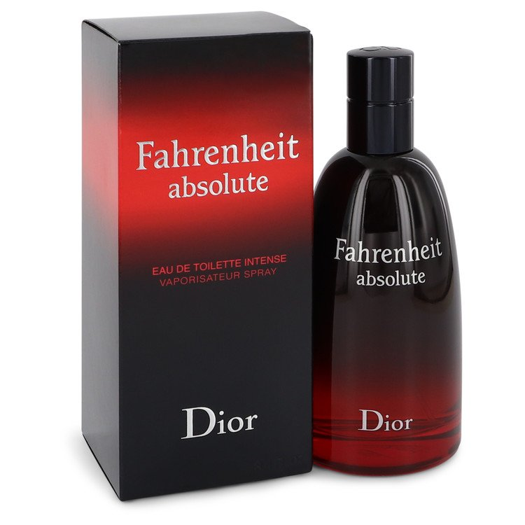Fahrenheit Absolute by Christian Dior Eau De Toilette Intense Spray 3.4 oz for Men