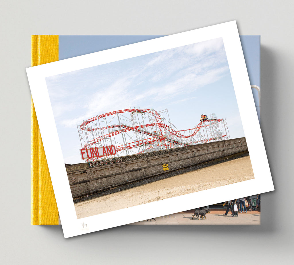 Limited edition print (C) + signed book: 'Funland'