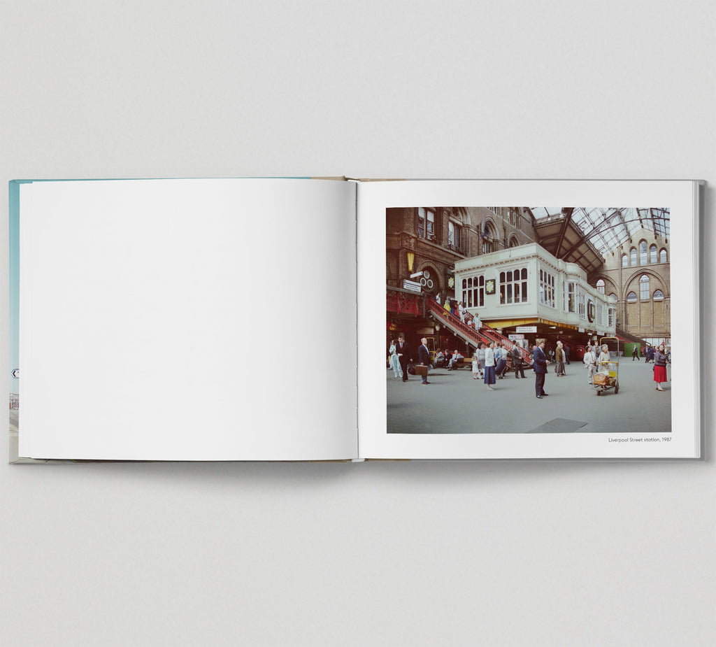 Limited edition print (A) + signed book: 'The East End in Colour 1980-1990'