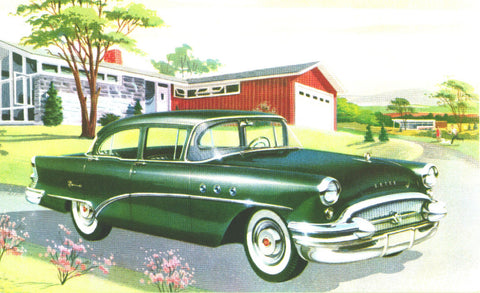 1955 to 1958 Buick Club Mugs, Magnets & Posters