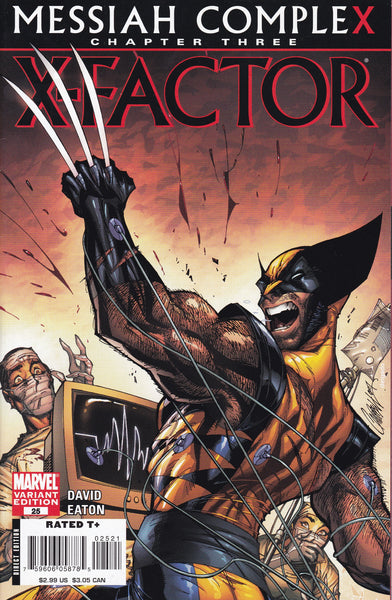 X-Factor #25 Campbell Variant
