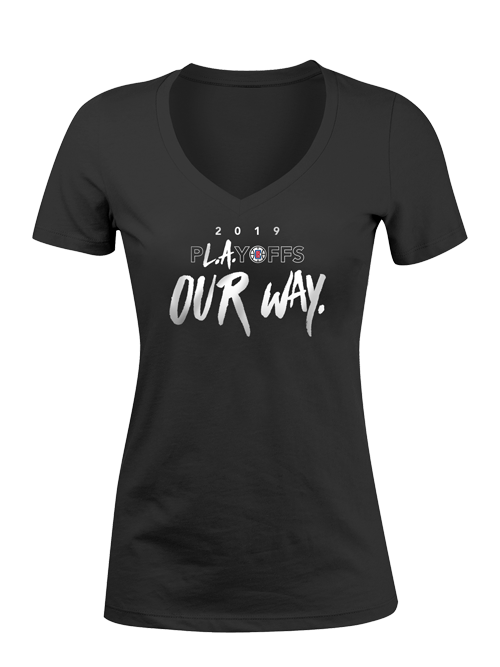 LA Clippers Women's Playoffs Our Way T-Shirt