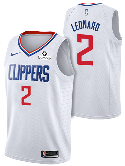 LA Clippers Kawhi Leonard Association Swingman Jersey