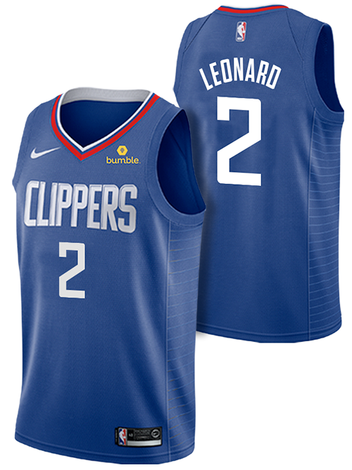 LA Clippers Kawhi Leonard Icon Swingman Jersey