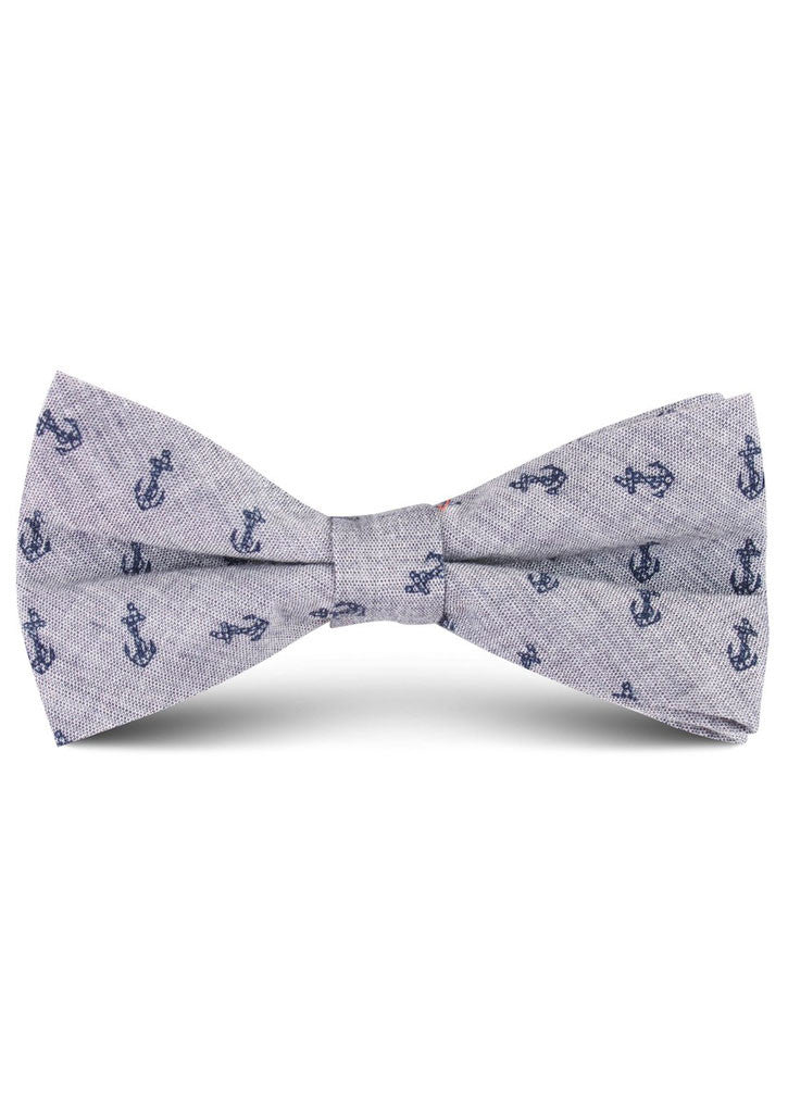 Anchors Bow Tie (Grey)
