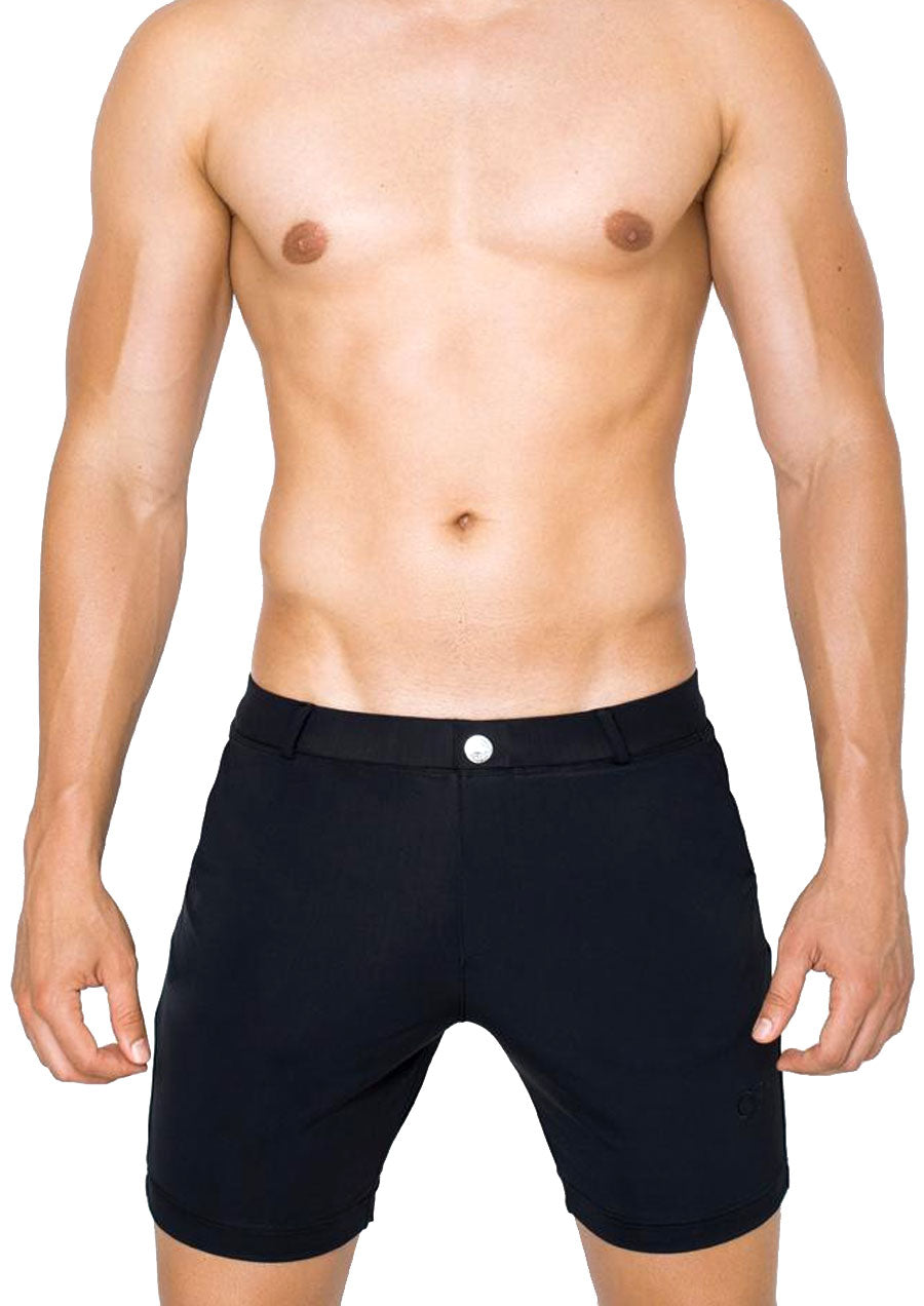 Long Bondi Beach to Street Short (Black)