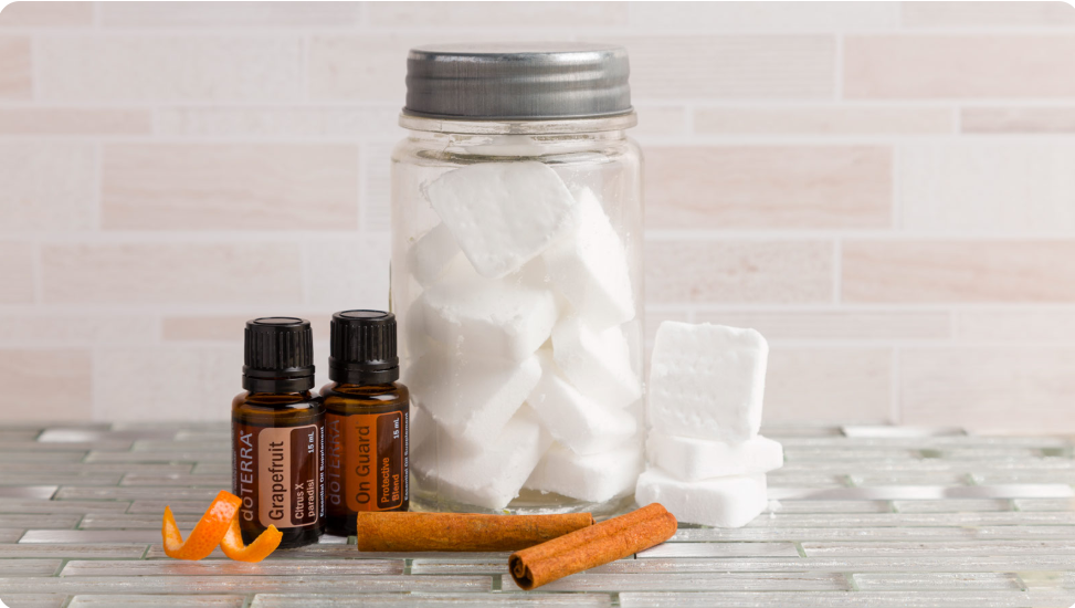 Dishwasher Detergent Tablets with dōTERRA Oils