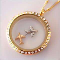 Aeroplane Floating Charm - Find Something Special