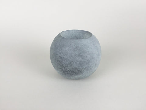Ball of Stone double sided candle holder by Tiipoi