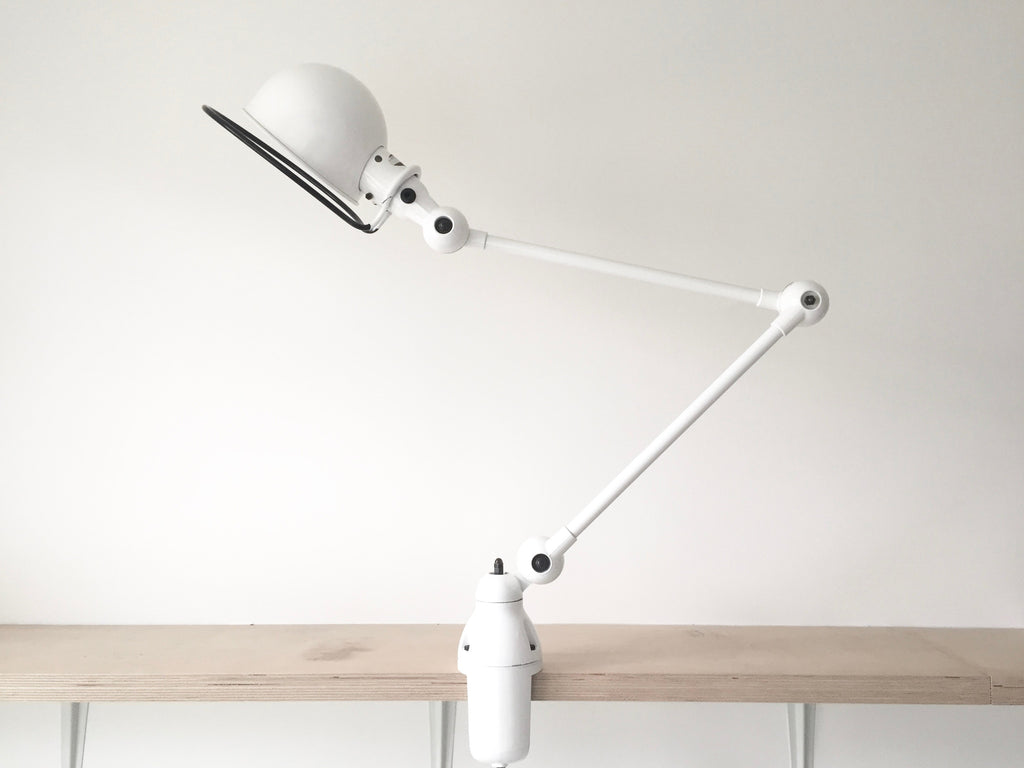Jielde desk lamp - White - eyespy