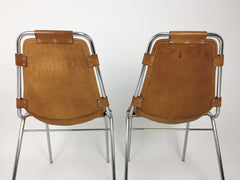 Set of 4 Charlotte Perriand Les Arcs chairs - eyespy