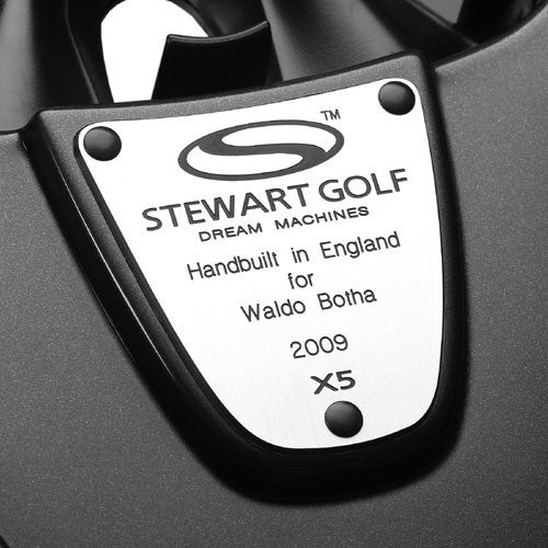 Stewart Golf Engraved Plaque