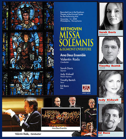 "Beethoven: Missa Solemnis & Egmont Overture <font color=""bf0606""><i>DOWNLOAD ONLY</i></font> LYR-6013"