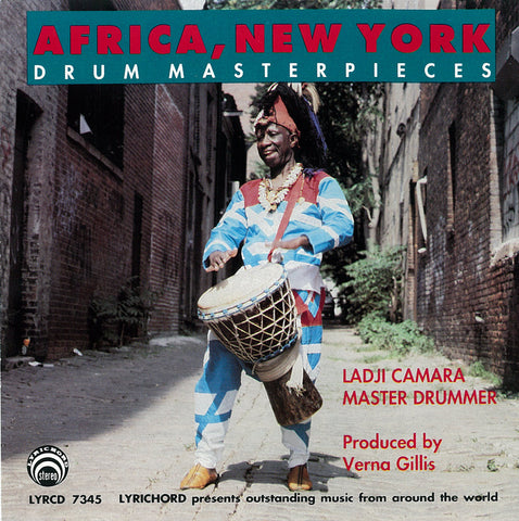 "Africa, New York Drum Masterpieces - Ladji Camara <font color=""bf0606""><i>DOWNLOAD ONLY</i></font> LYR-7345"