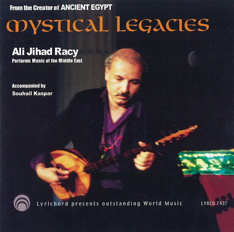 "Ali Jihad Racy: Mystical Legacies <font color=""bf0606""><i>DOWNLOAD ONLY</i></font> LYR-7437"