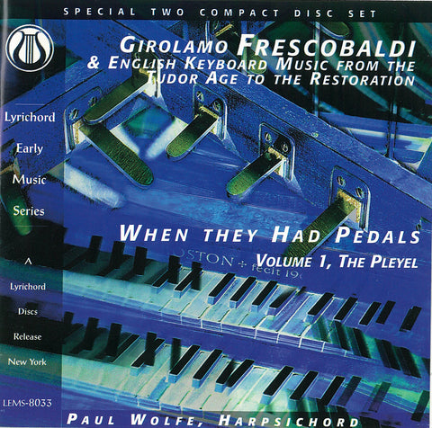 "Girolamo Frescobaldi & Eng. Keyboard Music <font color=""bf0606""><i>DOWNLOAD ONLY</i></font> LEMS-8033"