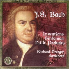 "J.S. Bach: Inventions, Sinfonias, Little Preludes - Richard Troeger <font color=""bf0606""><i>DOWNLOAD ONLY</i></font> LEMS-8047"