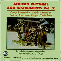 "African Rhythms and Instruments Vol. 2 <font color=""bf0606""><i>DOWNLOAD ONLY</i></font> LYR-7338"