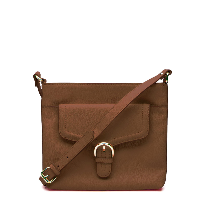 Farah Crossbody - Walnut