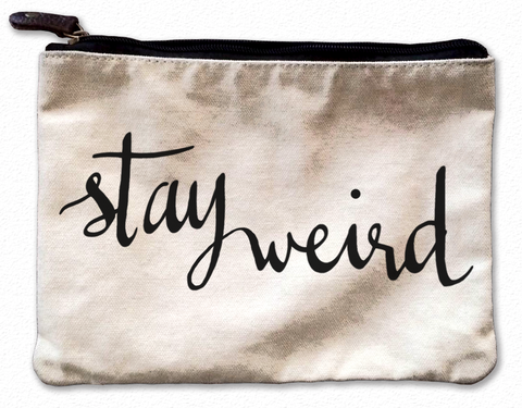 Do What You Love Canvas Pouch