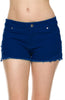 Cutoff Jean Shorts W/ Crochet Lace Trim - BodiLove | 30% Off First Order  - 1