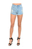 High Waisted Cutoff Distressed Denim Shorts | 30% Off First Order | Light Wash