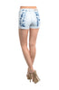 Bleached Tie Dye High Waisted Denim Shorts - BodiLove | 30% Off First Order  - 2