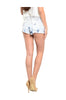 Acid Wash Medium Rise Cutoff Denim Shorts - BodiLove | 30% Off First Order  - 2