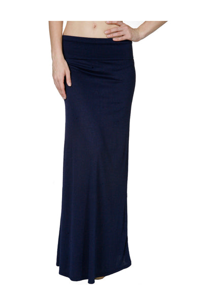 Solid Color High Waisted Maxi Skirt - BodiLove | 30% Off First Order  - 1