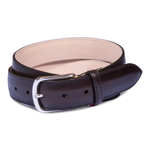 Belt Paolo Vitale Calf Leather Brown