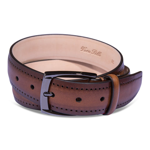 Belt Paolo Vitale Calf Brogue
