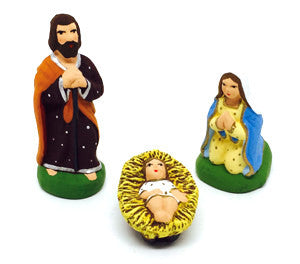 Mary, Joseph, Jesus Set - Size #1 / Cricket