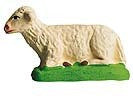 Lying Sheep - Mouton Couché - Size #2 / Elite