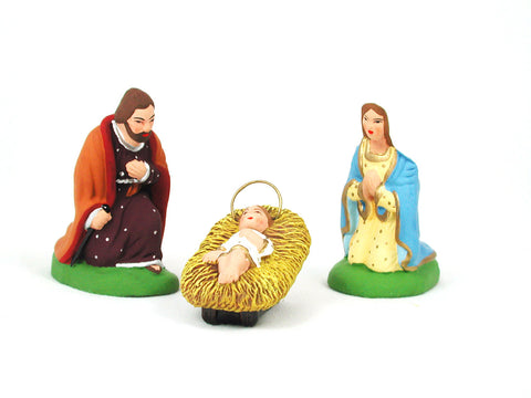 Mary, Joseph, Jesus Set - Size #2 / Elite