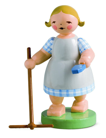 Girl with Rake / Retired 2019