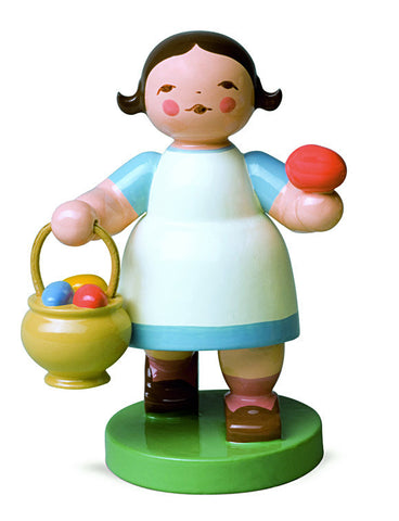 Girl with Easter Egg Basket - Retired 2018