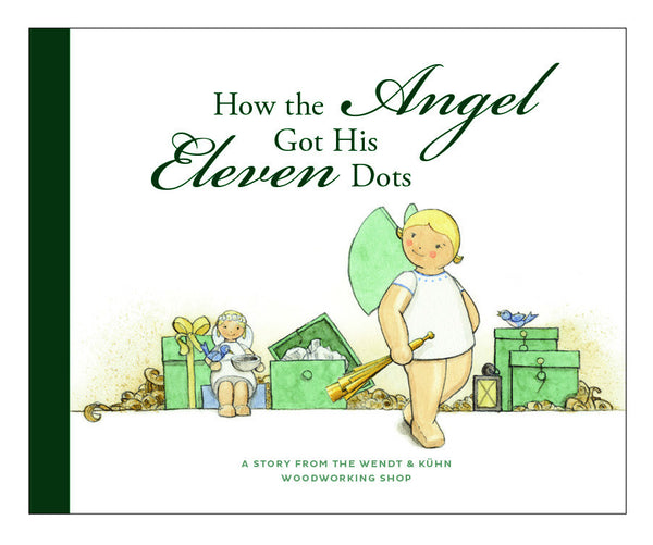 """How the Angel Got Its Eleven Dots"" Book / in English - New 2016"