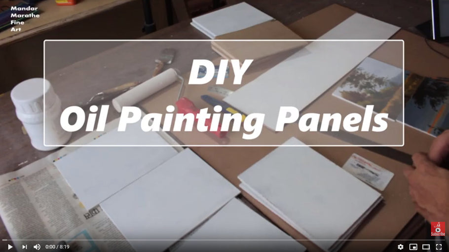 DIY - Oil Painting Panels