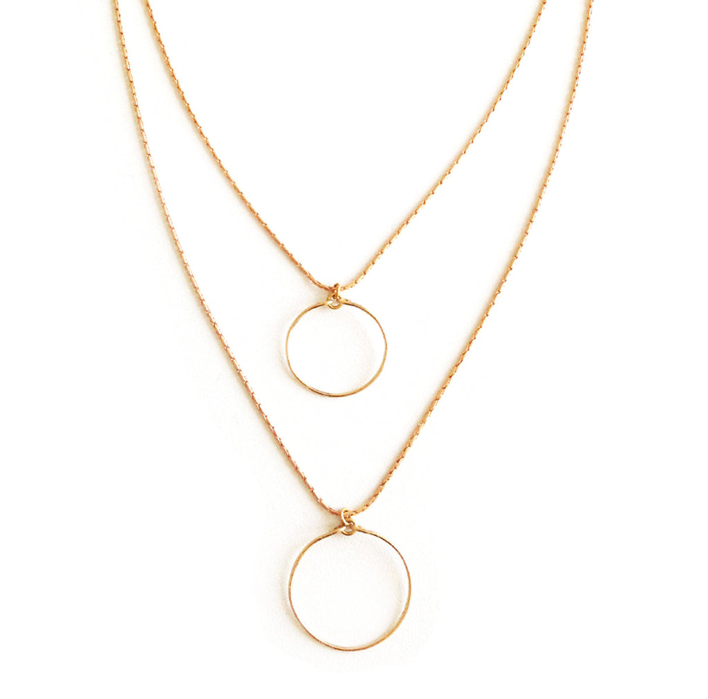 collier double curve - Mirgiole