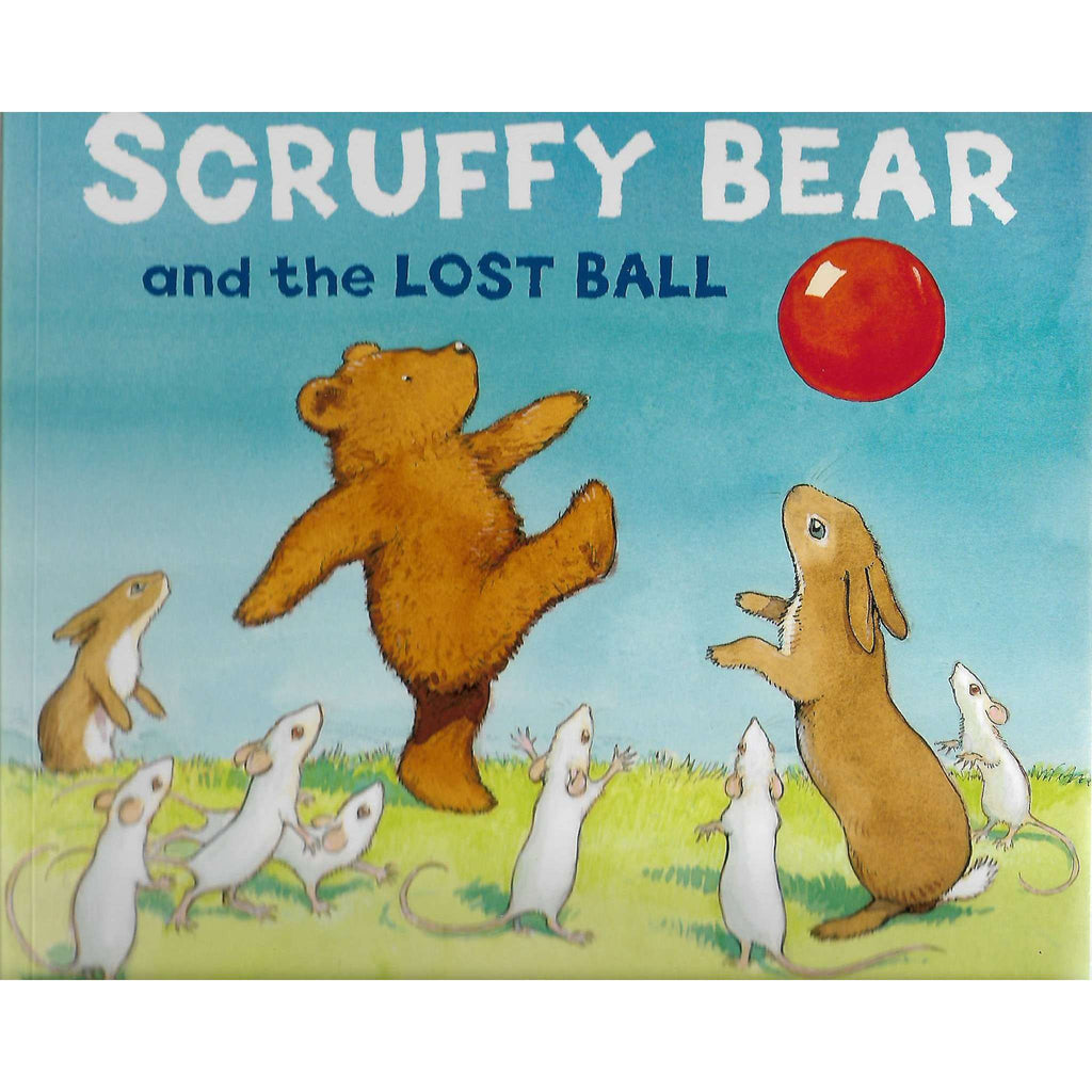 Bookdealers:Scruffy Bear and the Lost Ball | Chris Wormell