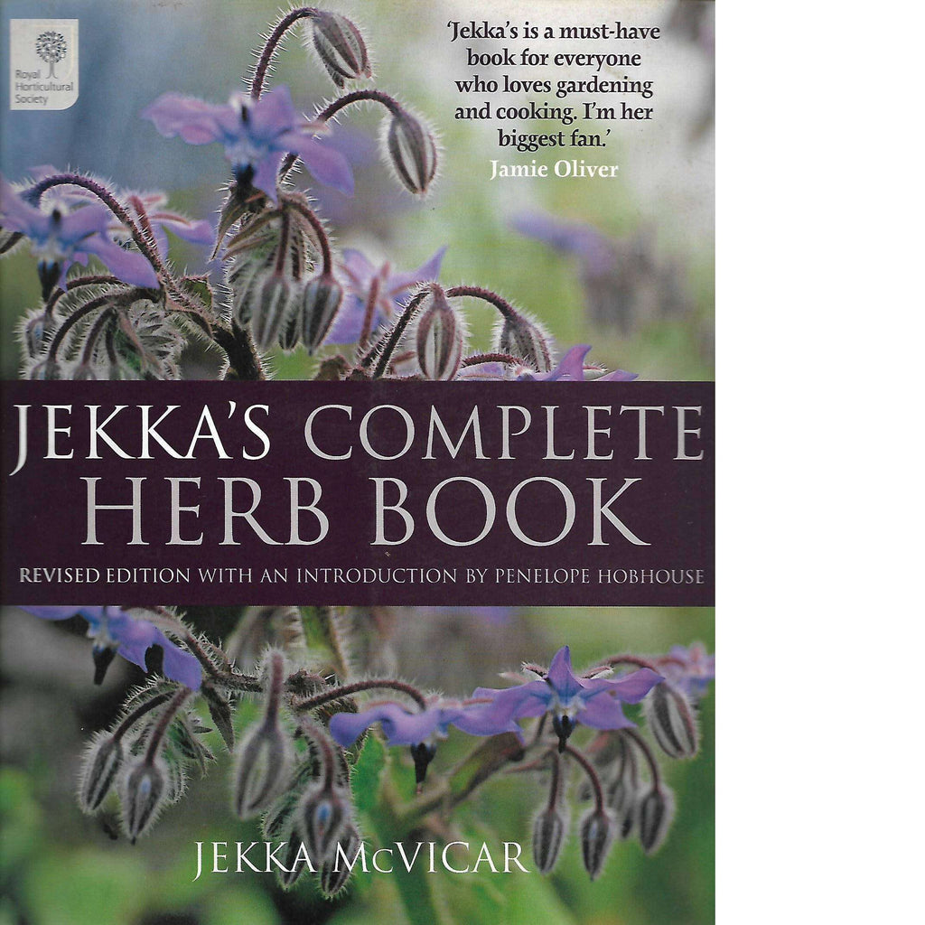 Bookdealers:Jekka's Complete Herb Book  (Inscribed by the Author) | Jekka McVicar