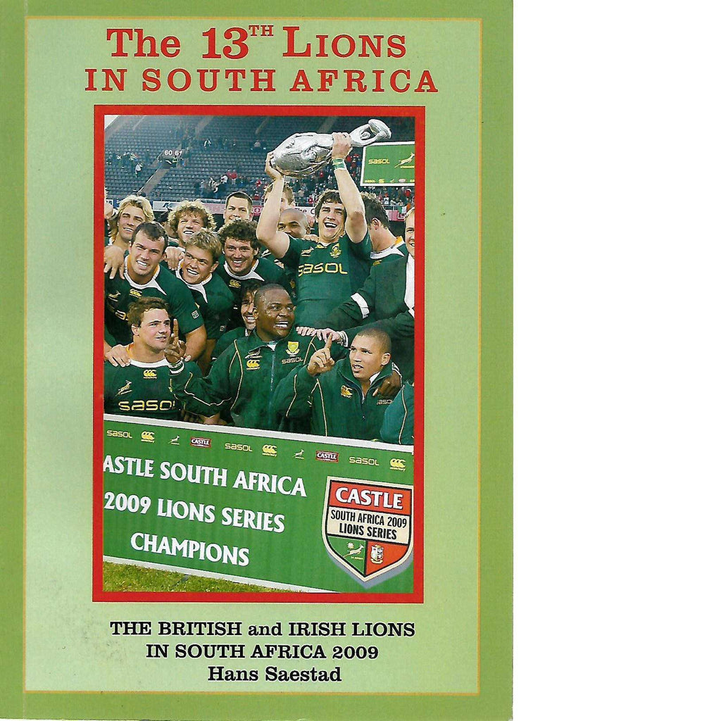 Bookdealers:The 13th Lions in South Africa | Hans Saestad