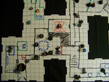 DRY ERASE DUNGEON TILES: GRAYSTONE SQUARE MIXED PACK