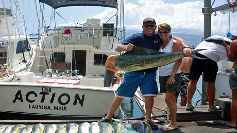 Action Sport Fishing Maui Hawaii Deep Sea Fishing