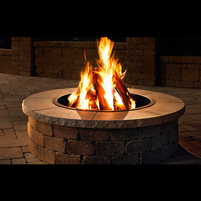 Necessories Fire Ring Cap (Fire Pit Not Included)