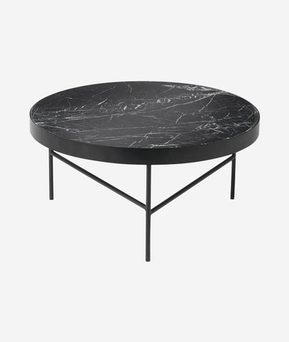 Black Marble Table Large