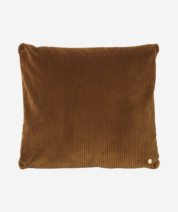 Corduroy Pillow Golden Olive