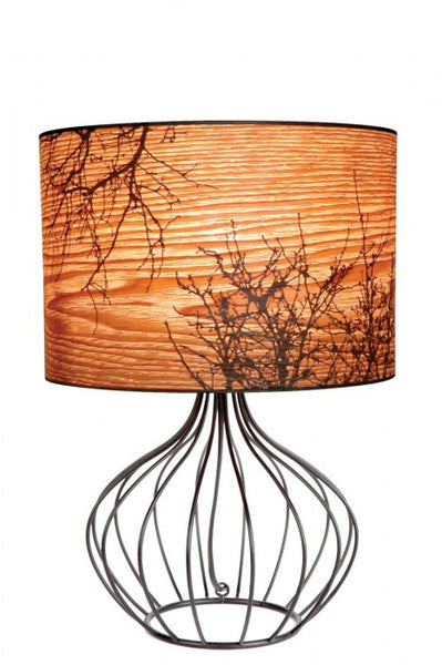 Autumn Lamp - Wire Base - Moontree Candles and Homewares Leura - 2