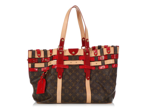Louis Vuitton Monogram Rubis Salina GM Tote